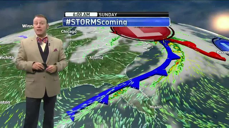 Meteorologist Rob Nucatola gives you the forecast for Friday, April 23, 2021.