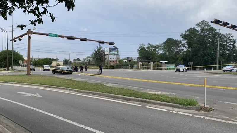 The Tallahassee Police Department is on the scene of an apparent bicycle crash that has closed...