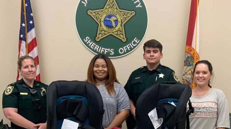 The Jackson County Sheriff's Office has received a donation from the Chipola Healthy Start...