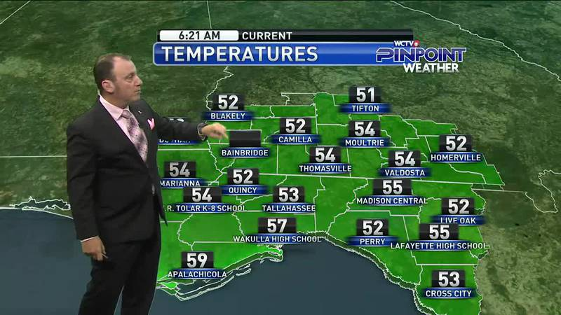 Meteorologist Rob Nucatola gives you the forecast for Wednesday, Oct. 27, 2021.