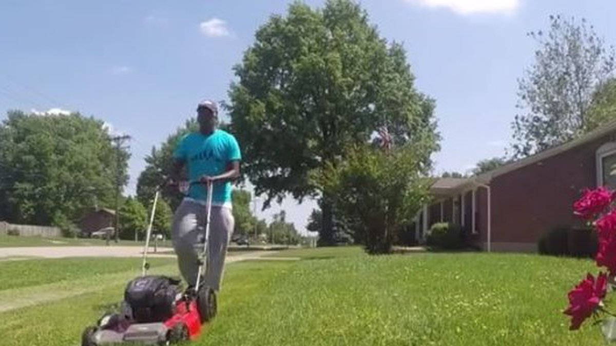 Credit: CBS News, Raising Men Lawn Care Service