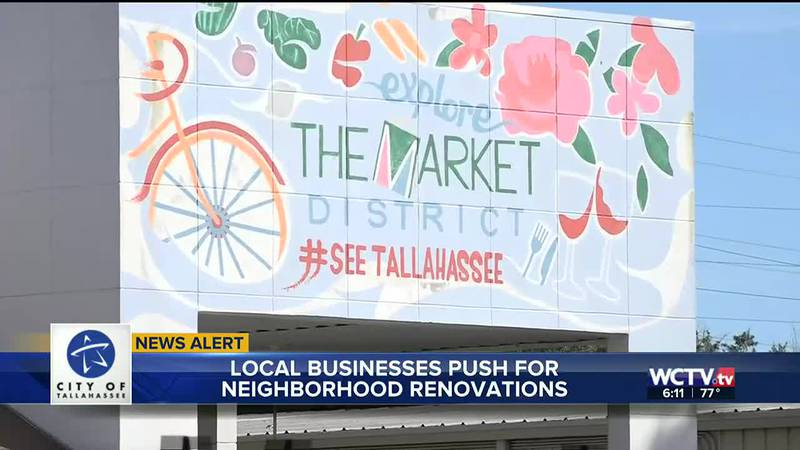 Infrastructure improvements, new parks, and more public art are coming to the Market District...