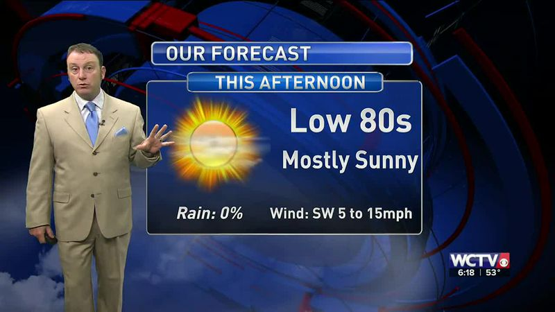 Meteorologist Rob Nucatola gives you the forecast for Wednesday, April 7, 2021.