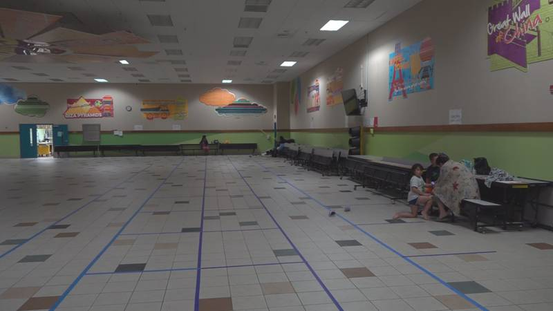 About a dozen folks spent their day at Suwannee Pineview Elementary School. Most who talked...