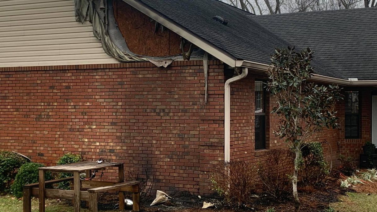 Suwanee Fire Rescue says it responded to a home fire on 152nd Street in Suwanee County...