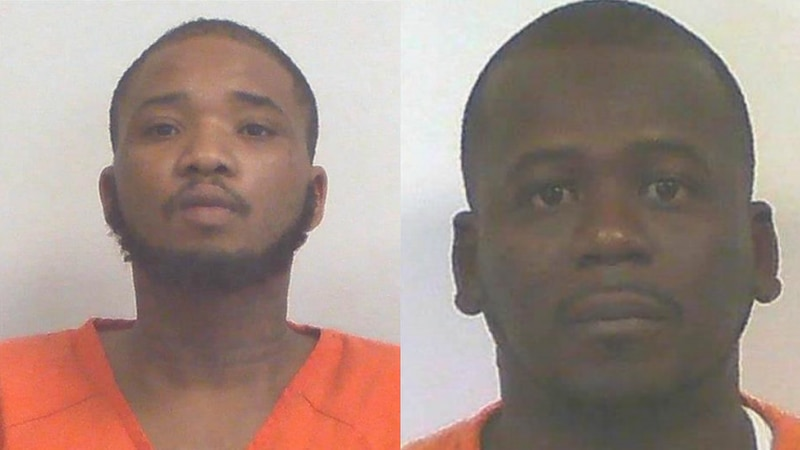 Damian Cayo (left) has been arrested in connection to Saturday's shootings in Adel, Georgia....