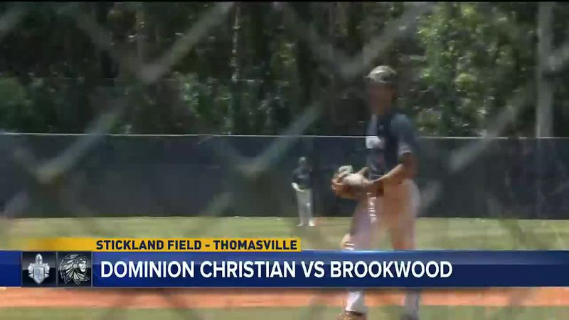 Harper McClendon put on a show both at the plate and on the mound as Brookwood Baseball...