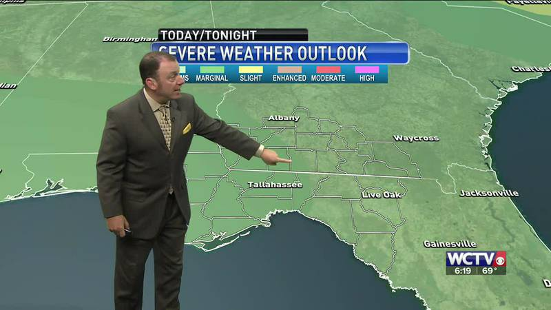 Meteorologist Rob Nucatola gives you the forecast for Monday, May 10, 2021.