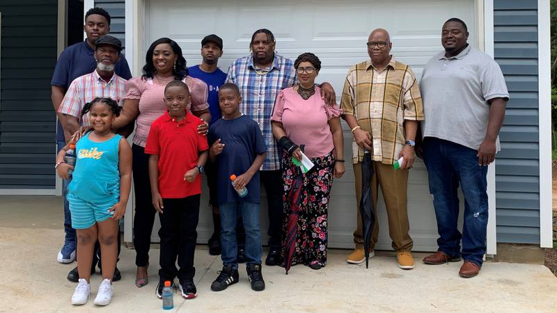 Two Tallahassee families have a new place to call home.
