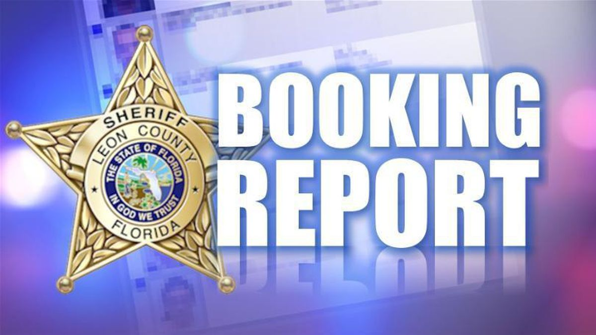 Leon County Jail Booking Report