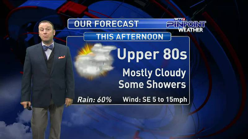 Meteorologist Rob Nucatola gives you the forecast for Friday, June 25, 2021.