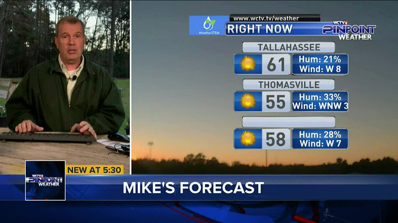 Chief Meteorologist Mike McCall has your Monday evening forecast.