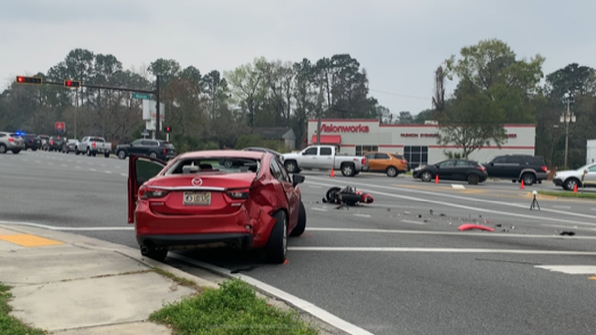 The Tallahassee Police Department says a crash on North Monroe Street has caused part of the...
